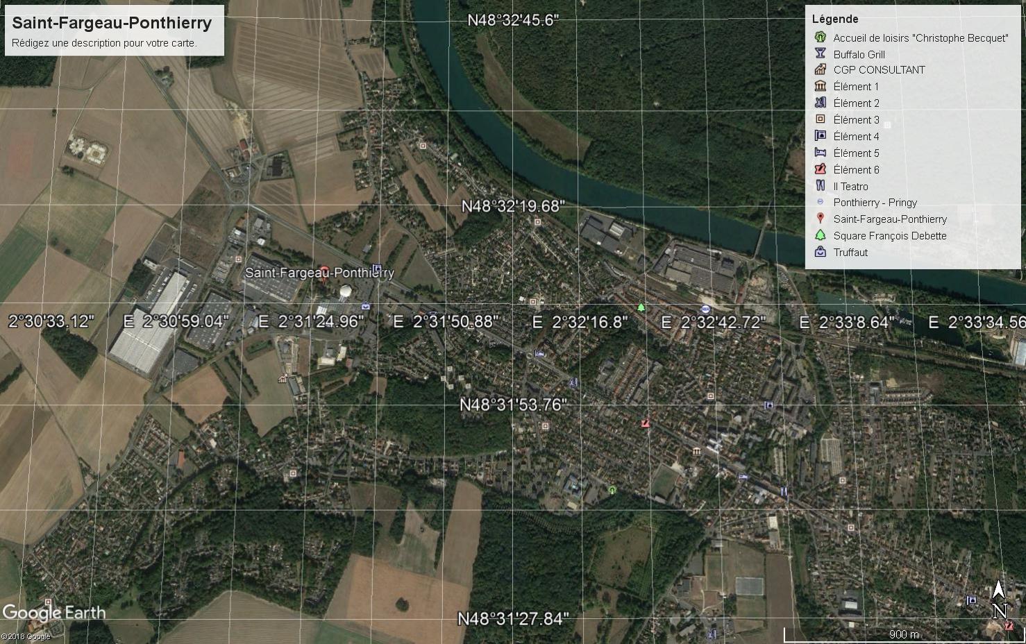 SAINT-FARGEAU-PONTHIERRY seine-et-Marne  (77)
